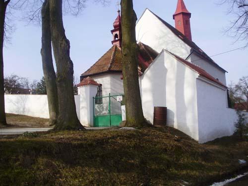 Hřbitovní zeď Krahulov