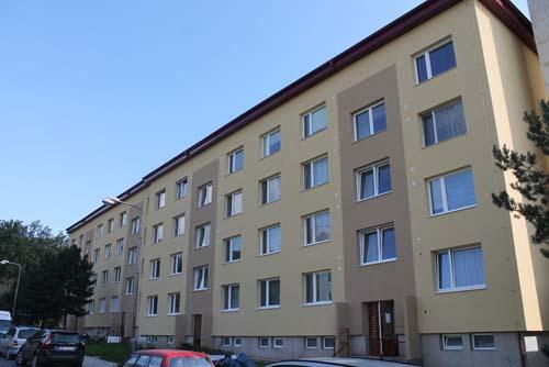 Revitalizace bytových domů Znojmo