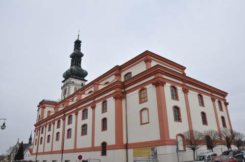 Oprava fasády kostel Polná