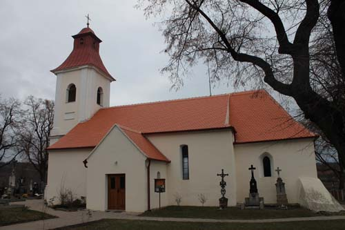 Rekonstrukce střechy – kostel Vedrovice
